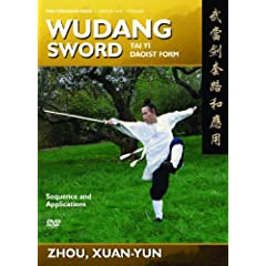Wudang Sword (Tai Yi Daoist Sword) Sequence and Martial Applications (YMAA)