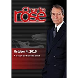 Charlie Rose - A look at the Supreme Court (October 4, 2010)