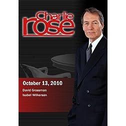 Charlie Rose - David Grossman / Isabel Wilkerson (October 13, 2010)