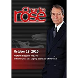 Charlie Rose - Midterm Elections Preview / William Lynn (October 18, 2010)