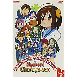Melancholy of Haruhi-Chan Suzumiya & Nyoron 1