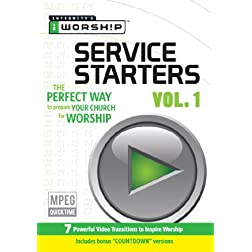 iWorship Service Starters Vol 1 DVD