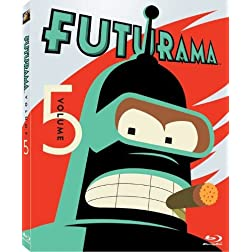 Futurama: Volume 5 [Blu-ray]