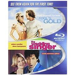 Fool's Gold & Wedding Singer [Blu-ray]