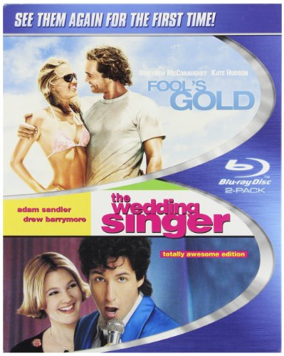 Fool's Gold & Wedding Singer [Blu-ray]