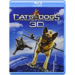 Cats & Dogs: The Revenge of Kitty Galore (Three Disc: Blu-ray 3D / Blu-ray / DVD / Digital Copy)