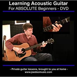 Learn To Play Acoustic Guitar - For Absolute Beginners - Best DVD Learning Method