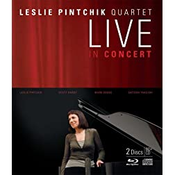 Leslie Pintchik Quartet Live In Concert (BD+CD) [Blu-ray]