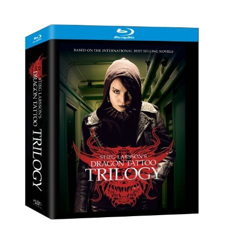 The Stieg Larsson Trilogy (The Girl with the Dragon Tattoo / The Girl Who Played with Fire / The Girl Who Kicked the Hornet's Nest) [Blu-ray]
