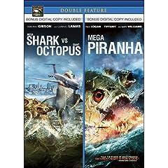 Mega Shark vs Giant Octopus / Mega Piranha