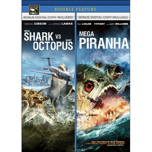 Mega Shark vs Giant Octopus / Mega Piranha