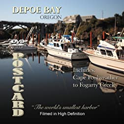 Depoe Bay, Oregon A DVD Video Postcard