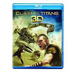 Clash of the Titans (Three Disc: Blu-ray 3D / Blu-ray / DVD / Digital Copy)