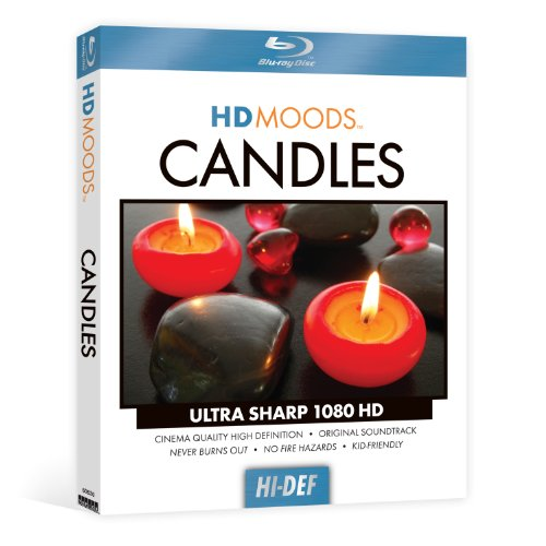 HD Moods Candles [Blu-ray]