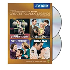 TCM Greatest Classic Film Collection: Legends - Jean Harlow (Dinner at Eight / Libeled Lady / China Seas / Wife vs. Secretary)