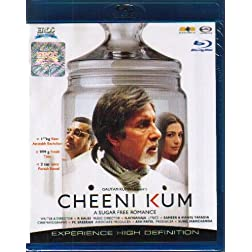 Cheeni Kum (Hindi Film / Bollywood Movie / Indian Cinema Blu-ray Disc)