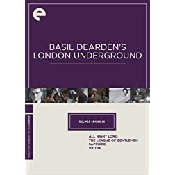 Eclipse Series 25: Basil Dearden's London Underground (Sapphire, The League of Gentlemen, Victim, All Night Long) (Criterion Collection)