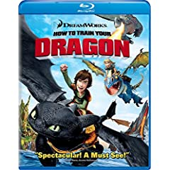 How to Train Your Dragon Blu Ray (Single Disc Blu-Ray 2010)
