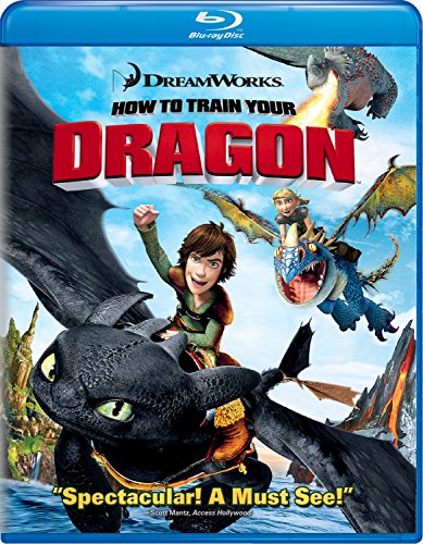 How to Train Your Dragon Blu Ray (Single Disc Blu-Ray 2010)