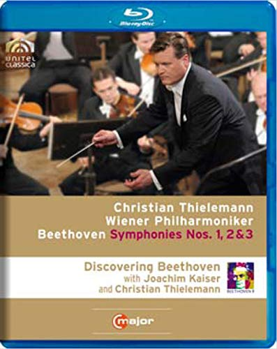 Discovering Beethoven: Symphonies Nos 1 2 & 3 [Blu-ray]