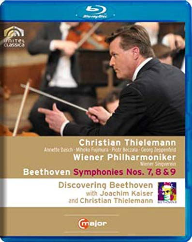Beethoven: Symphonies Nos. 7,8 & 9, featuring bonus content - Discovering Beethoven With Kaiser & Thielemann [Blu-ray]