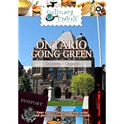 Culinary Travels Ontario-Going Green