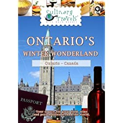 Culinary Travels Ontario's Icy Jewels