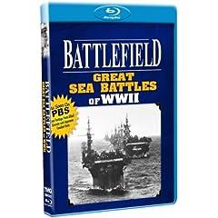 Battlefield - Great Sea Battles of WWII - As Seen on PBS! [Blu-ray]