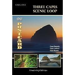 Three Capes Scenic Loop, Oregon DVD Video Postcard