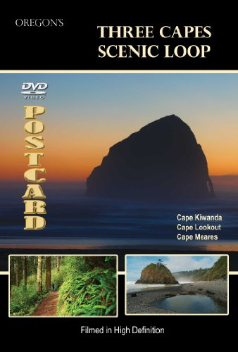 Three Capes Scenic Loop, Oregon DVD Video Postcard