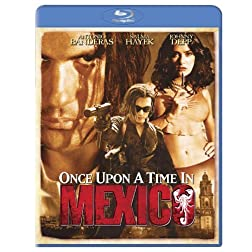 Once Upon a Time in Mexico [Blu-ray]