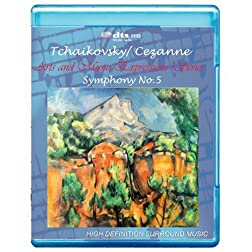 Tchaikovsky/Cezanne: Symphony No.5 - Art and Music Expressions Series [7.1 DTS-HD Master Audio/Video Disc][Blu-ray]