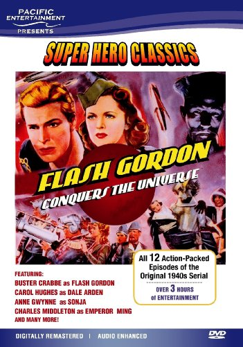 Super Hero Classics-Flash Gordon Conquers the Universe