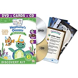 Baby Einstein: Neptune's Oceans Discovery Kit (DVD, + CD and Discovery Cards)