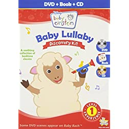 Baby Einstein: Baby Lullaby Discovery Kit  (DVD + CD and Picture Book)