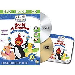 Baby Einstein: World Of Rhythm Discovery Kit  (DVD, + CD and Board Book)