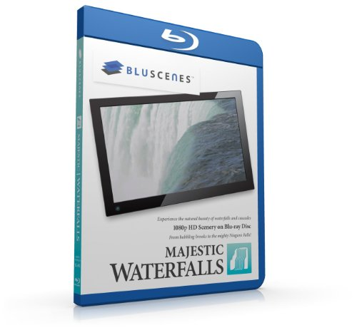 BluScenes: Majestic Waterfalls 1080p HD Blu-ray Disc