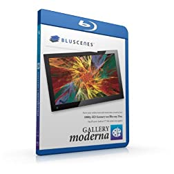 BluScenes: Gallery Moderna 1080p HD Blu-ray Disc