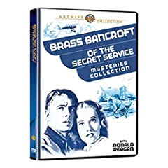 Bancroft Of The Secret Service  Mysteries  Collection - 4 Movies