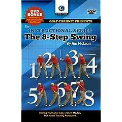 Jim McLean: The 8-Step Swing DVD