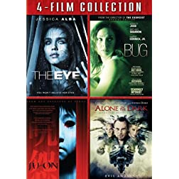 Four Film Collection (Eye / Bug / Ju-On / Alone In The Dark)