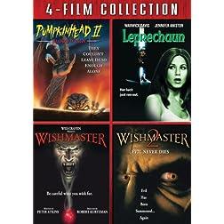 Four Film Collection (Pumpkin Head II / Leprechaun / Wishmaster / Wishmaster 2)