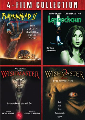 Four Film Collection (Pumpkin Head II / Leprechaun / Wishmaster / Wishmaster 2)