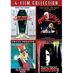 Four Film Collection (My Best Friend's A Vampire / Repossessed / Slaughter High / Silent Night, Deadly Night 3)