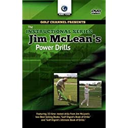 Jim McLean: Power Drills (DVD)