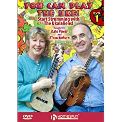 You Can Play the Uke! DVD#1-Start Strumming with The Ukalaliens!