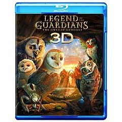 Legend of the Guardians-Owls of Ga'hoole (Three-Disc Combo: Blu-ray 3D / Blu-ray / DVD / Digital Copy)