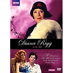 Diana Rigg at the BBC