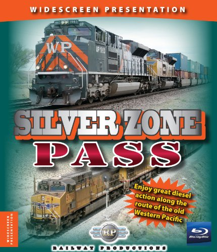 Silver Zone Pass-Train Blu-Ray