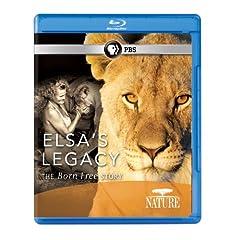 Nature: Elsa's Legacy: The Born Free Story [Blu-ray]
